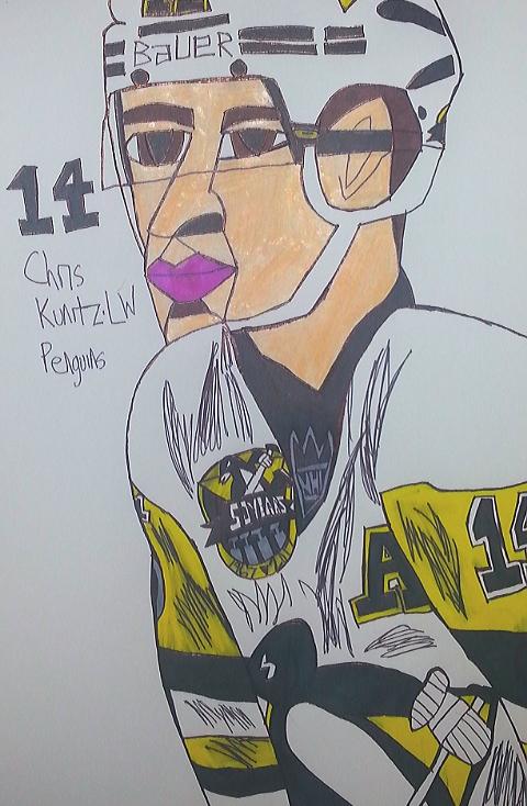 Chris Kunitz by armattock
